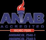 ANAB Accredited Logo